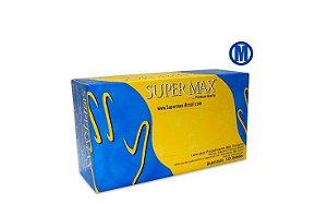 Luvas Proc. M Látex C/ Pó - Super Max