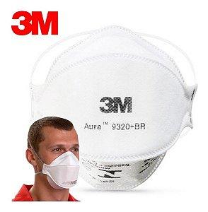 Máscara de Proteção Respiratória PFF2 Aura 9320+BR 3M - Un