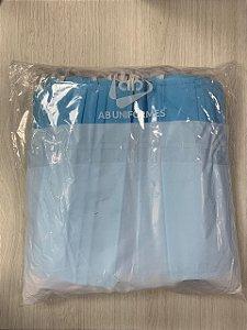 Proteção descartavel dupla Azul Pacote c/ 50 un AB Uniformes