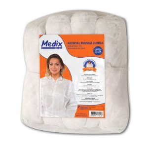 Avental Descartável 20g pacote com 10 un. - Medix