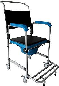 Cadeira para higiene D50 Até 150kg - Dellamed