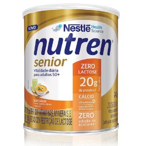 Nutren Senior Pó Sem Sabor Zero Lactose 740g