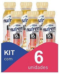 Nutren Senior mix de frutas 200ml - Kit com 6 unidades