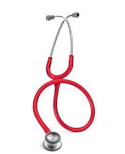 Estetoscópio Cardiológico Ped Ref 2113 Vermelho Littmann 3M