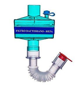 Filtro Bacteriano HME Ventilação Mecânica -  Becare