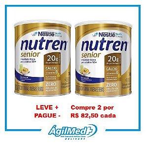 Nutren Senior Pó Sem sabor - 740g - 2 unidades