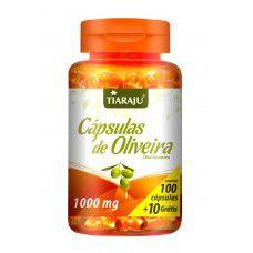 Capsulas de Oliveira 1000MG 100+10CPS Softgel (110CPS) S/GLUTEN - TIARAJU