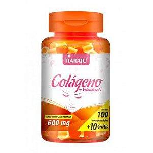 Colageno+Vita C 600MG 100+10CP (110CP) S/GLUTEN - TIARAJU