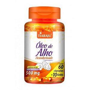 Oleo de Alho Desodorizado 500MG 60+10CPS Softgel (70CPS) S/GLUTEN-TIARAJU