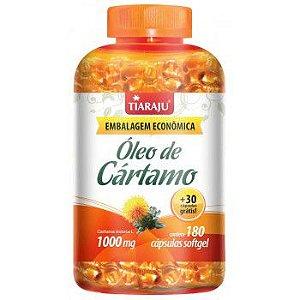 Oleo de Cartamo 1000MG 180+30CPS Softgel (210CPS) S/GLUTEN - TIARAJU