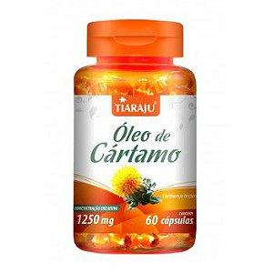 Oleo de Cartamo 1000MG 60+10CPS Softgel (70CPS) S/GLUTEN - TIARAJU