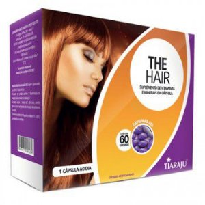 The Hair Sup Vit 750MG 60CPS GEL S/GLUTEN TIARAJU