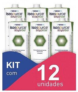 Isosource Soya Fiber - Kit com 12 unidades