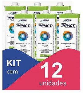 Impact Torta de limão 1L - Kit com 12 unidades