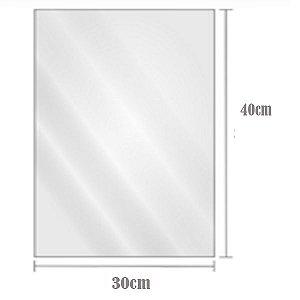 Saco Plástico Transparente BD 30cm x 40cm Com2kg