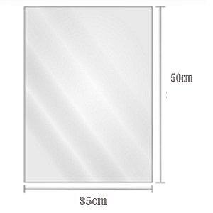 Saco Plástico Transparente BD 35cm x 50cm Com2kg