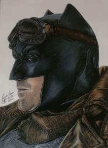 Batman Ben Affleck Deserto - Original
