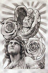 Anjos e Rosas