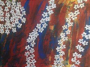 Flores Douradas - Original