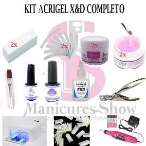 Kit Acrigel X&D Completo