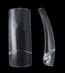 Caixa de Tips Retra Transparente -100 Unidades