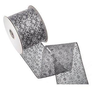 Fita prata design prata brilhante A108446