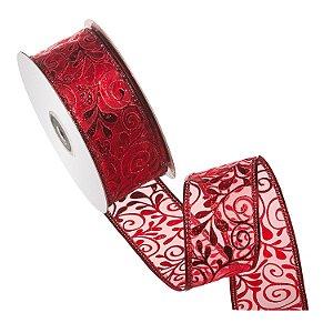 Fita vermelha design vermelho A108556