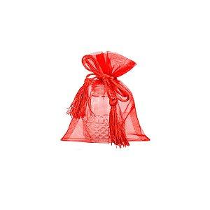 Bag em Voil Borgandy com pingente 14cm x 11cm  B15C104