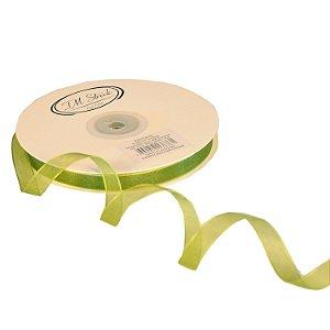 Fita Organza Verde Oliva 0,95cm x50m A20C610