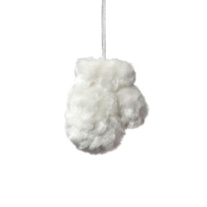 Luva Branca em Pele G558503