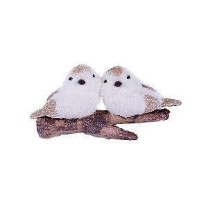 Casal de Pássaros no tronco G559320