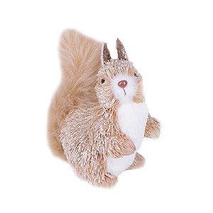 Esquilo em pé caramelo G559322