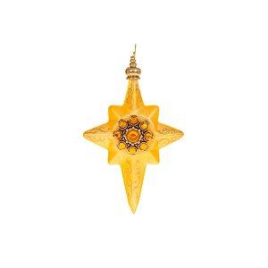 Fino ornamento ouro com pedra ouro G108128