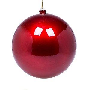 Bola vermelha perolizada 20cm G109262