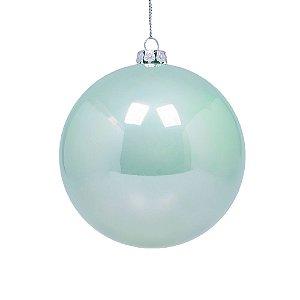 Bola azul agua perolizada 10cm G159447