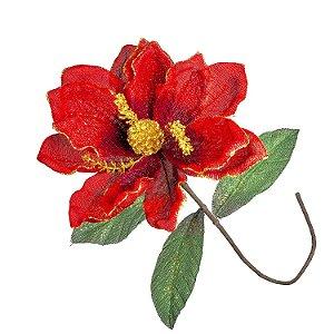 Magnolia Vermelha 6pçs G208218