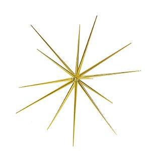 Estrela Sputnik dourada G159476