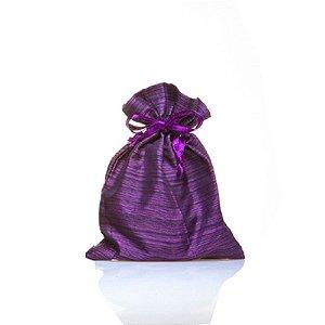 saquinho de tafeta violeta 10 unid. 14x11cm B15809