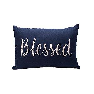 Capa de almofada azul marinho Blessed C209738