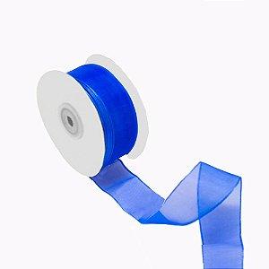 Fita organza azul bic A209910 3,81cm x 50m