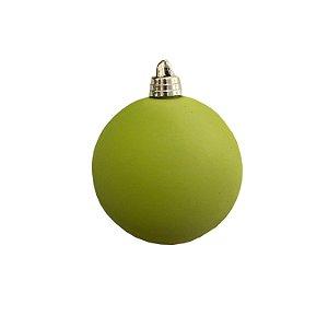 Bola verde ceciliano aveludada G159472