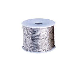 Cordão metálico prata A35W149P