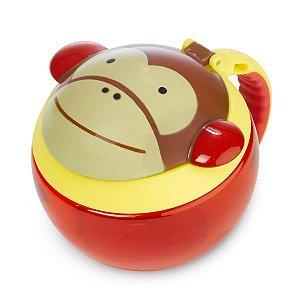 Potinho de lanche macaco