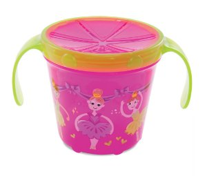 Porta biscoitinho deco Rosa bailarinha Munchkin