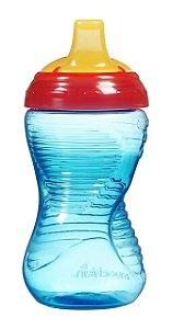 Copo grande Mighty Grip azul/vermelho