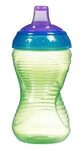 Copo grande Mighty Grip verde/azul
