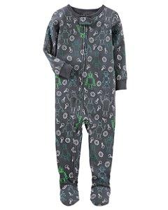 Pijama Robô- OSHKOSH