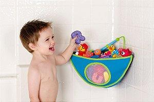 Organizador de Brinquedo de Banho Azul