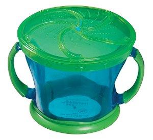 Porta biscoitinhos azul/verde