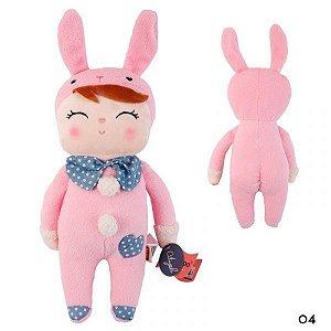 Boneca Angela Coelha Pink - Metoo Doll